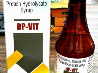 Multivitamin Minerals With Protein Hydrolysate Syrup