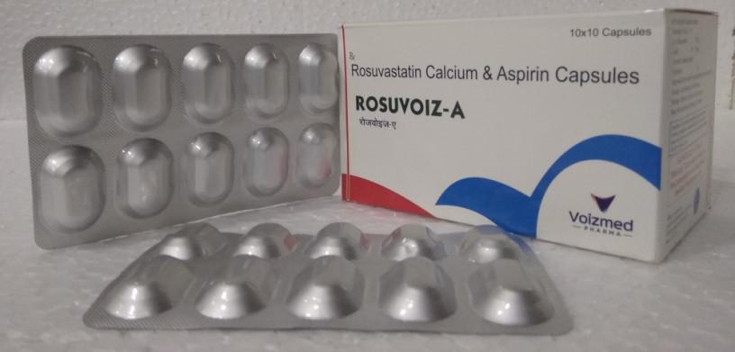 ROSUVASTATIN 10MG+ASPIRIN 75MG CAP 1