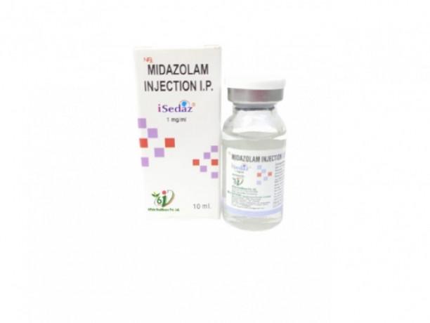 ISedaz 10 ml (MIDAZOLAM INJECTION) 1