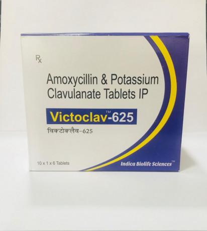 Amoxicillin 500mg + Clavulanic Acid 125mg Tablet 1