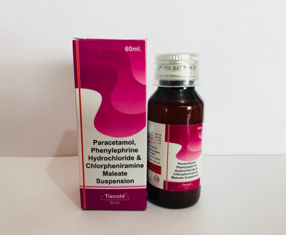 Phenylephrine 2.5 mg + CPM 1 mg + Paracetamol 125 mg 1