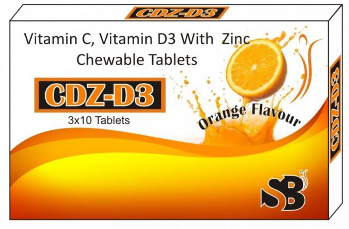 VITAMIN C ,D,AND ZINC TABLET 2