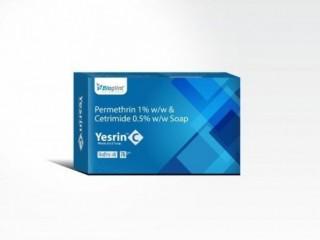 Permethrin 1% w/w + Cetrimide 0.5 w/w Soap