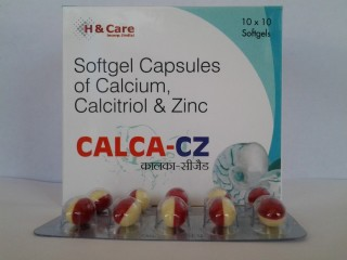 SOFTGEL CAPSULES OF CALCITROL CALCIUM CARBONATE ZINC AT BEST PRICE